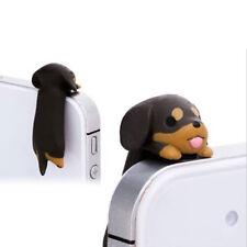 3.5mm Universal Dust Plug Dog Anti Dust Earphone Jack Plug Headset Stopper Cap、