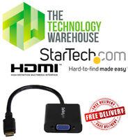 StarTech Mini HDMI to VGA Adapter Converter - 1920 x 1080 - MNHD2VGAE2