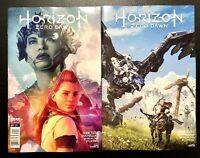 🚨🔥 HORIZON ZERO DAWN #1 SET OF 2 Cvr A ARTGERM & Cvr B Game Art Wrap Variant