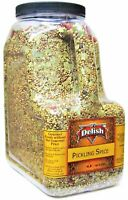 Gourmet Pickling Spice by It's Delish, 4 LB (64 Oz) Restaurant Gallon Size...