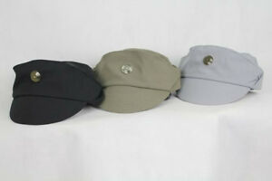 Imperial Officer Cap Star Wars (Choose Your Color) Costume Hat Black Green Grey