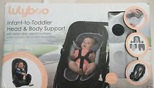OPEN BOX Lulyboo Infant To Toddler Head And Body Support W Removable Cushions