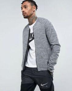 Nike Sportswear Tech Knit Jacket Heather/Black/Grey 832178-060 MEN XL RETAIL$250