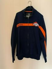 Men's Denver Broncos NFL College Branded Navy Primary Full-Zip