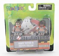 "MiniMates Ghostbusters 2016 Abby Yates Patty Tolan w Weapon 2"" Figures 1025T"