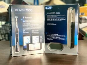 Oral-B Pro Black 7000 Smart Series Rechargeable Toothbrush with Bluetooth