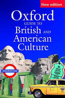 Oxford Guide to British and American Culture, Crowther, Jonathan, Very Good cond
