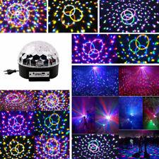 DJ Discokugel Lichteffekt MP3 Automatisch LED Licht f. Party Bar RGB Weihnachten