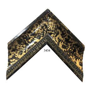 "Custom Picture Frame | 3"" Gold Black Speckle | Great for Large Prints"