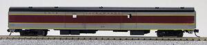 N Smooth Side Full Baggage Car Erie-Lackawanna (Maroon/Gray) (1-40330)