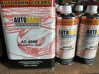 AC 9045 Autobahn Glamour Urethane Clear Coat 6 Quart Kit (Wet Wet All Kandy)