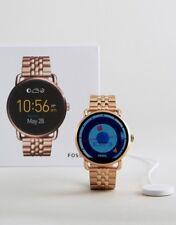 Watch Fossil Q Wander Rose Gold Bracelet Smartwatch FTW2112