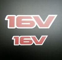 Exterior Vinyl Graphics For Vauxhall Opel Astra GTE / 16v (16v Logo) (Set of 2)