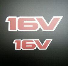 Esterno la Grafica in Vinile per Vauxhall Opel Astra GTE/16v (16v) CON LOGO