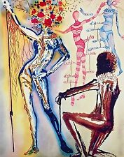 Ballet of Flowers, Limited Edition Giclee, Salvador Dali