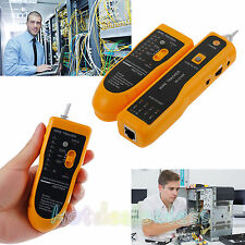 Telephone Phone RJ45 RJ11 Wire Tracker Tracer LAN Network Cable Tester