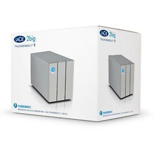 LaCie 2Big Thunderbolt 2 / USB 3.0 8TB 2-Bay External Hard Drive HDD STEY8000401