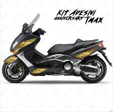 ADESIVI ANNIVERSARY GRAFICA CARENA COMPATIBILE YAMAHA TMAX T-MAX 01 07 ORO SPOR