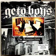 GETO BOYS - THE RESURRECTION US ORG RAP-A-LOT LP W/SHRINK & HYPE STICKER