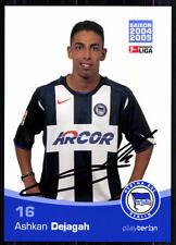 Ashkan Dejagah Hertha BSC Berlin 2004-05 Original Signiert + A 83490