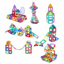 Magnetic Building Blocks Magnetic Tiles Toys for Kids 3D Structures and Shapes