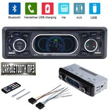 Car MP3 Player Vehicle Bluetooth Handsfree Calling U Disk Card FM Radio AUX 12V