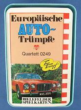 Quartett - Europäische Auto-Trümpfe - BIELEFELDER - Nr. 0249 - NEU in Folie