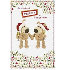 BOOFLE TO A WONDERFUL PARTNER CHRISTMAS CARD NEW GIFT