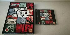 Grand Theft Auto III PC Game (deutsch, 2002, PC CD)