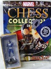 MARVEL COMICS CHESS COLLECTION NUMBER 28 BULLSEYE MAGAZINE & FIGURE SEALED