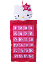 Girls Hello Kitty 24 Day Christmas Advent Calendar Fun Holiday Countdown NEW