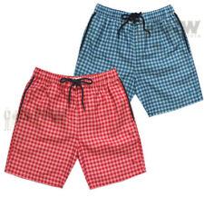 Abbigliamento rossi in poliammide per il mare e la piscina da uomo taglia S