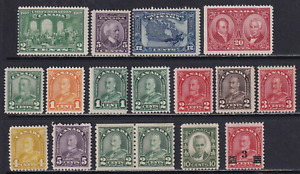 Canada 1927-1932 MNH Stamp Lot  Very HICV  See*