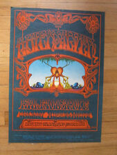 QUICKSILVER Kaleidoscope Avalon Poster Rick Griffin 101 2nd printing