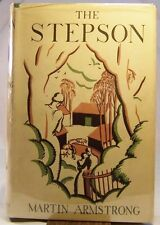 Martin Armstrong THE STEPSON First Edition Psychological Realism Novel 1927 dj