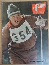 SPORT IM BILD 1- 6.1. 1961 Skispringen Eishockey Fußball-EC SC Wismud-Rapid Wien