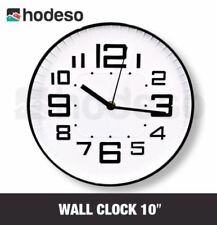 "Hodeso Wall Clock 10"" Olivia (Black)"