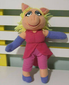 DISNEY MISS PIGGY MUPPETS MOVIE PLUSH TOY! SOFT TOY ABOUT 30CM TALL KIDS TOY!