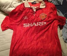 Manchester United (england) Home Football Shirt 1992 First Premiership