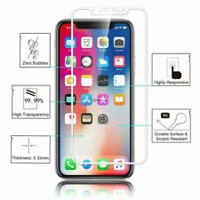 For Apple iPhone X Tempered Glass Screen Protector - 100% Genuine Metal