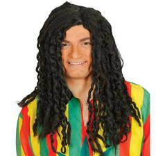 Adulto uomo Giamaicano Bob Marley Rasta Reggae Cappello Capelli Parrucca Treccine rastaoppure Costume
