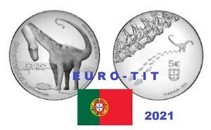 5,00  €   PORTUGAL  COMMEMORATIVE   2021      DINOSAURE     2021     disponible