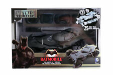 """Jada DC Comics Metals Batman V Superman 8"""" Batmobile Model Kit 1:24 97781 Black"""