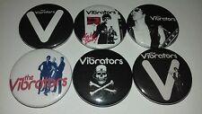 6 TheVibrators Pin Button badges Fifth Amendment Recharged Meltdown Volume 10
