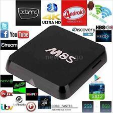 M8S 2+8G 4K S812 Android 4.4 TV Box Quad Core Cortex-A9 2.4G&5G BT4.0 Media Z9V5