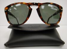 PERSOL 714 SUNGLASSES Color (2431) DARK HAVANA Steve McQueen NEW Size 52