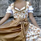 041.. Dirndl Oktoberfest German Austrian Dress -Sizes: 6.8.10.12.14.16.18.20.22
