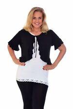 Damen-Blusen Kurzarm Damenblusen, - tops & -shirts aus Viskose