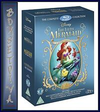 The Little Mermaid Collection Blu-ray 1989 Region