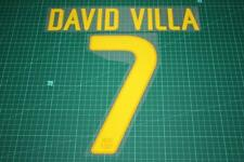 Barcelona 11/12 #7 DAVID VILLA Homekit / Awaykit Nameset Printing